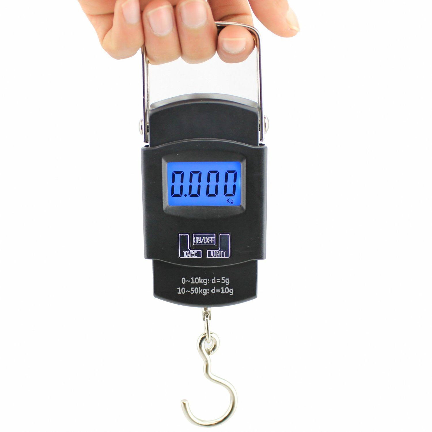 Portable Digital Luggage Travel Scales Up to 50kg - Perfect for Suitca