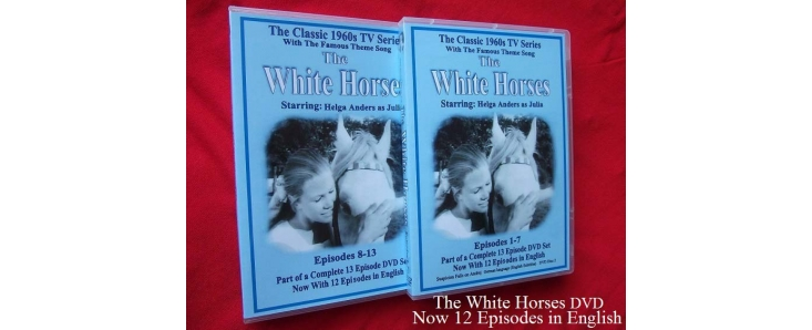 The White Horses 1960s TV Series DVD in English