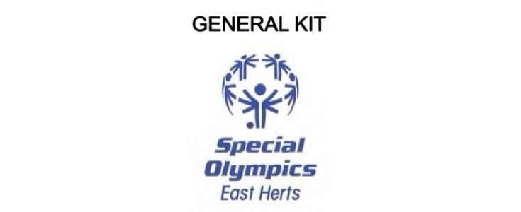 General kit, athletes.