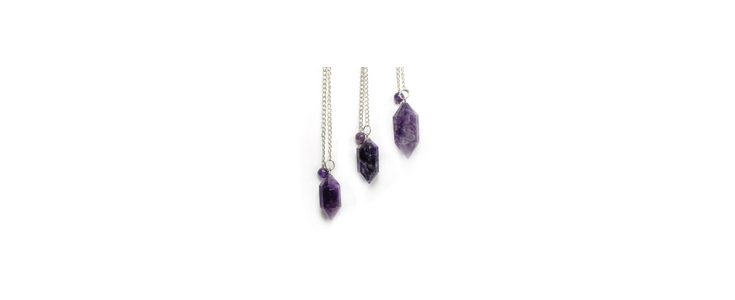 Crystal Pendulums