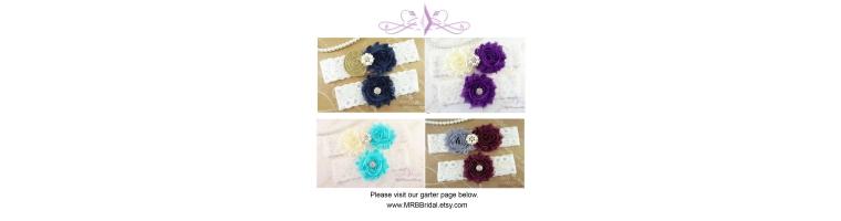 Flower Garters