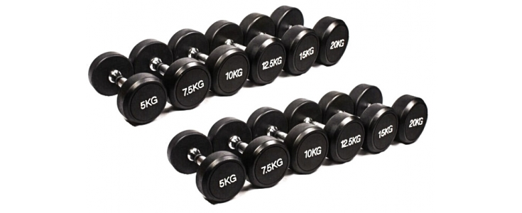 Dumbbells With Fixed Weights