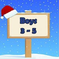 Boys 3-5 Wrapped Grotto Toys