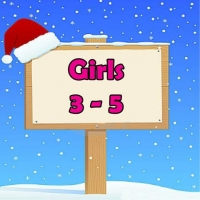 Girls 3-5 Wrapped Grotto Toys