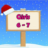 Girls 6-7 Wrapped Grotto Toys