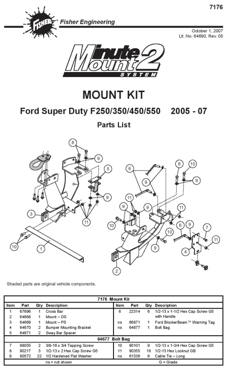 Fdrhitchesllcinfoimages Productsnowplow Partsfishervehicle Mounts Fisjpg on Western Plows For Plow Diagram
